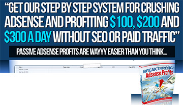 Breakthrough Adsense Profits